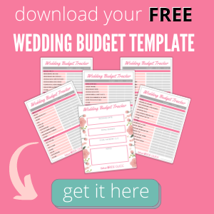 Download your free wedding budget template