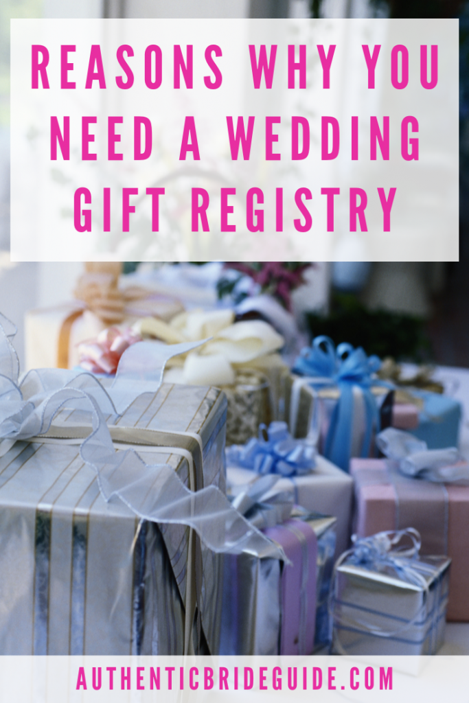 What should I put on my wedding registry?