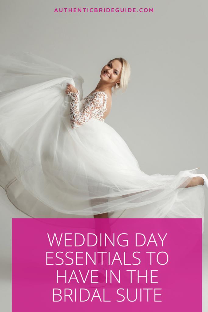 Bridal Suite Supplies - Bride Emergency Kit -