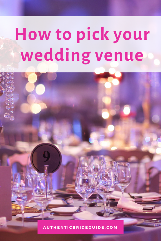 How to decide which wedding venue to book