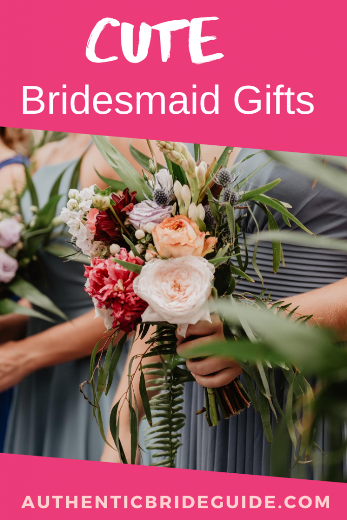Cute Bridesmaid Gifts. Affordable Maid of Honor Ideas.