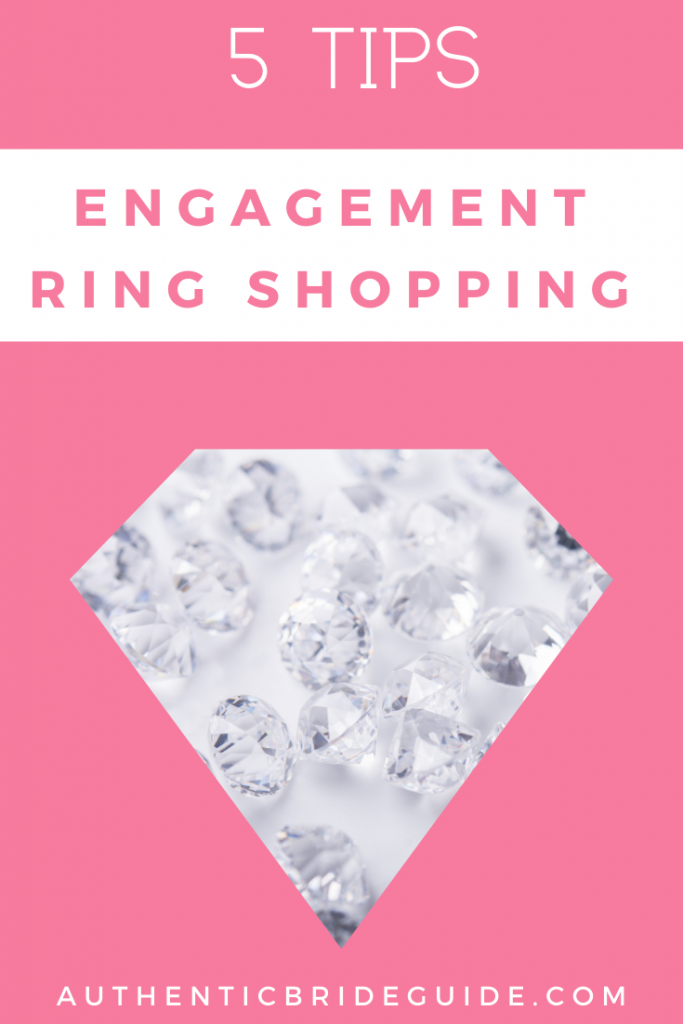 Engagement ring shopping advice