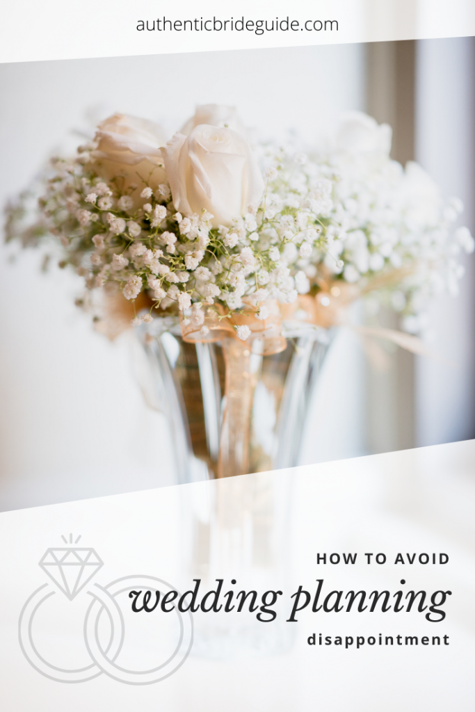 How to deal with wedding planning drama