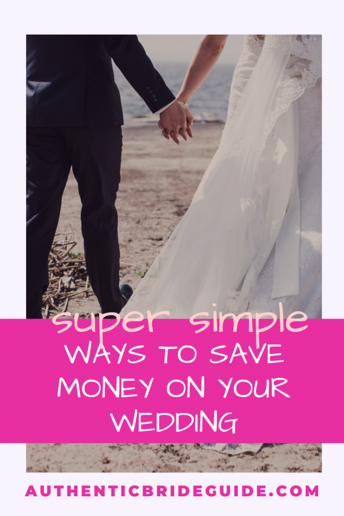 Simple ways to save money at your wedding