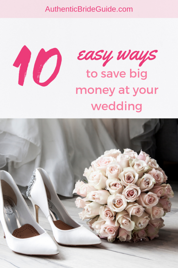 Easy ways to save money on your wedding