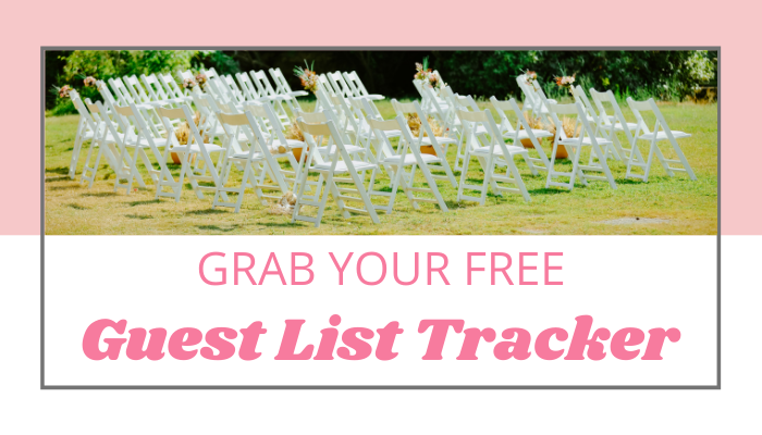 Free Wedding Guest List Tracker Printable Template