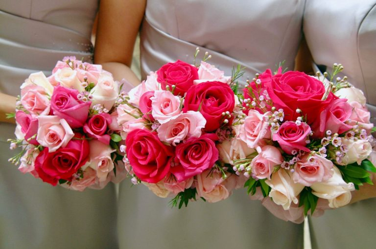 Bridesmaid Flowers and Maid of Honor Flowers