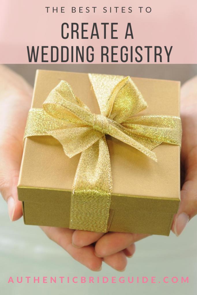 Quick wedding registry