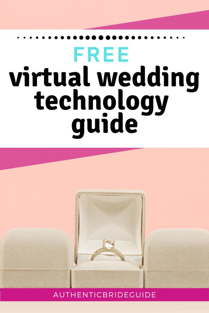 Virtual Wedding Checklist